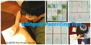 Miss Panda Chinese-Bilingual Parenting Tips-raising child in English and Chinese