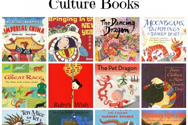 12 Chinese New Year and Culture Books
