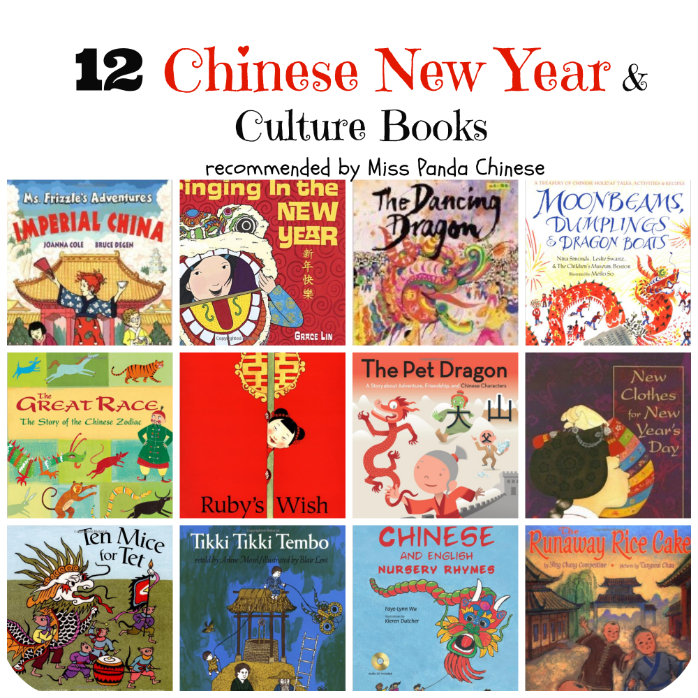 Miss Panda Chinese recommended Books for Chinese New Year and Culture