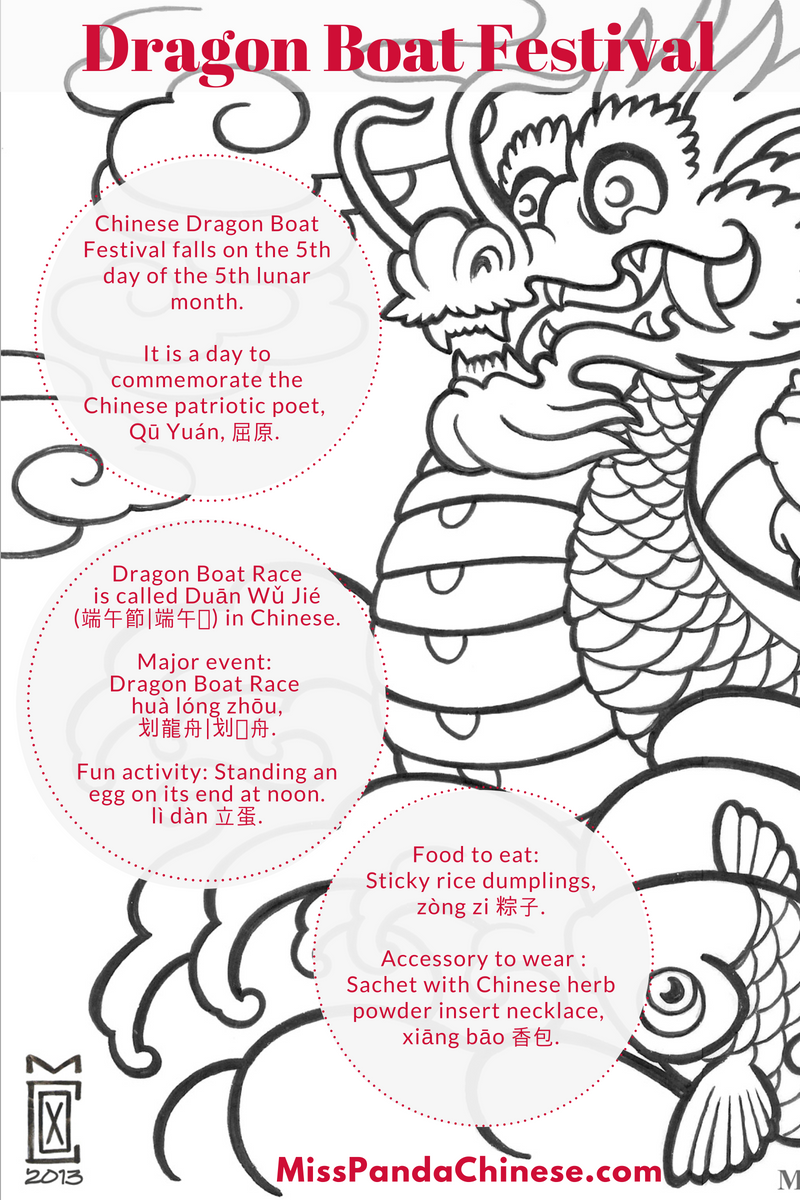 Chinese Culture For Kids Series Dragon Boat Festival