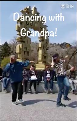 Dancing with Grandpa, Mini Chinese Story, Miss Panda Chinese