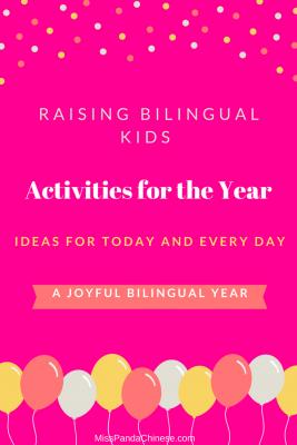 Raising Bilingual Kids 11 Activities | Miss Panda Chinese