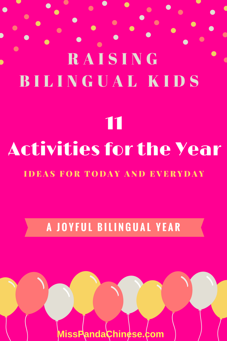 Raising Bilingual Kids Activities | Miss Panda Chinese