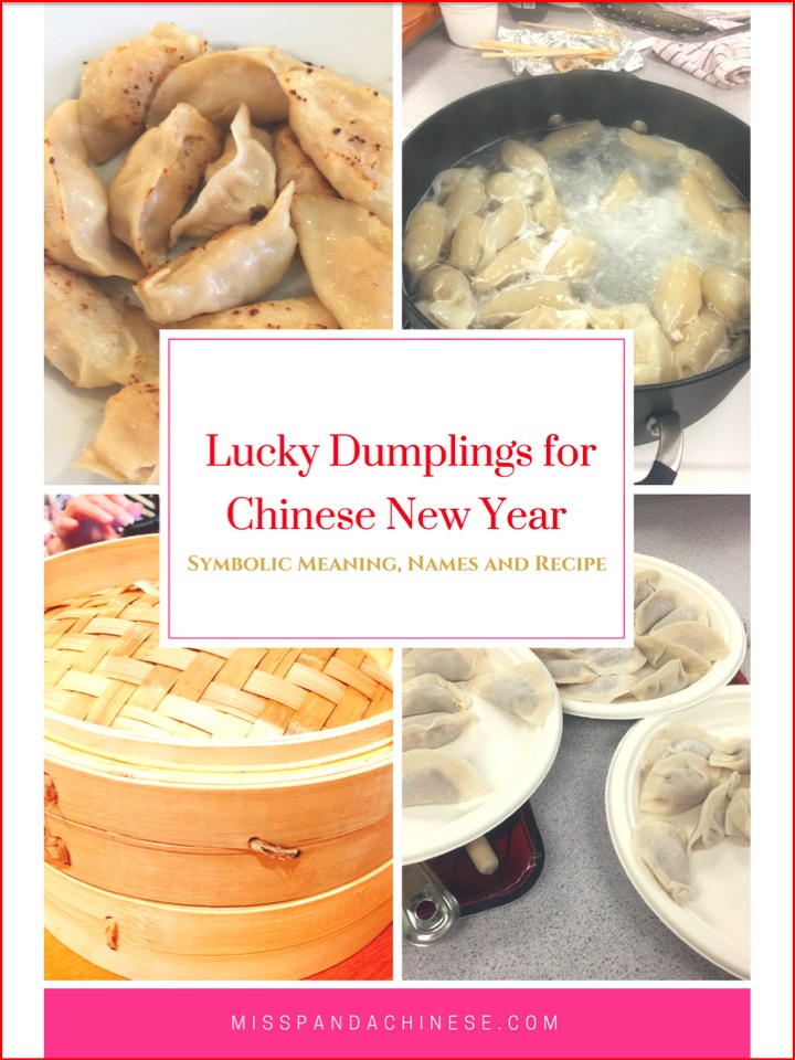 Chinese New Year Lucky Dumplings | Miss Panda Chinese