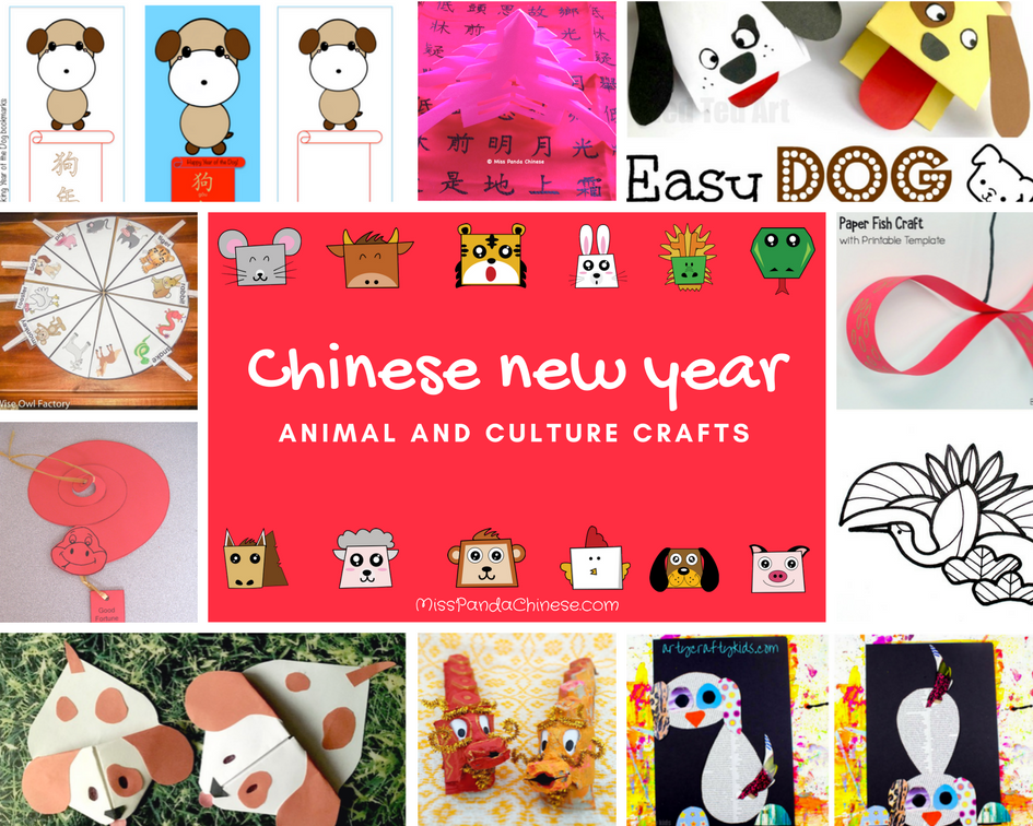 18 chinese new year crafts animal and culture projects miss panda chinese mandarin chinese for children